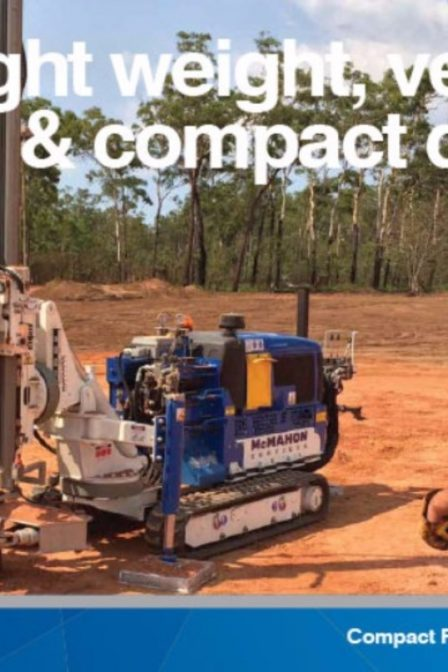 compact rotary drill fact sheet