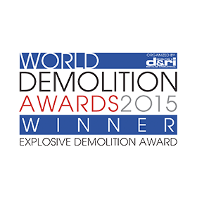 Winner of World's Best Industrial Demolition Project 2016