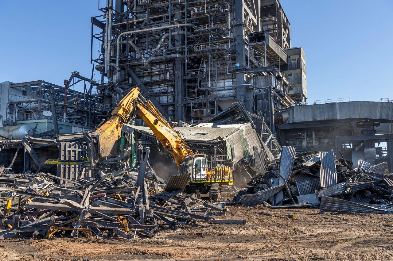 Deconstruction of Pt Augusta Power Station site