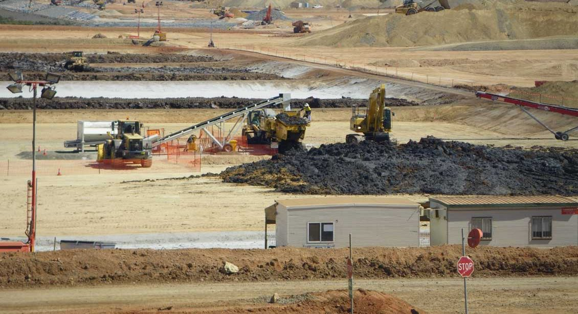 Australia Pacific LNG Project - Acid Sulphate Soil Treatment