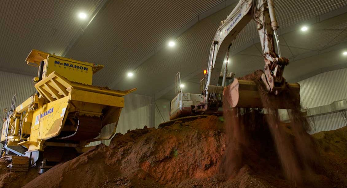 Birkinhead Gasworks Site Remediation